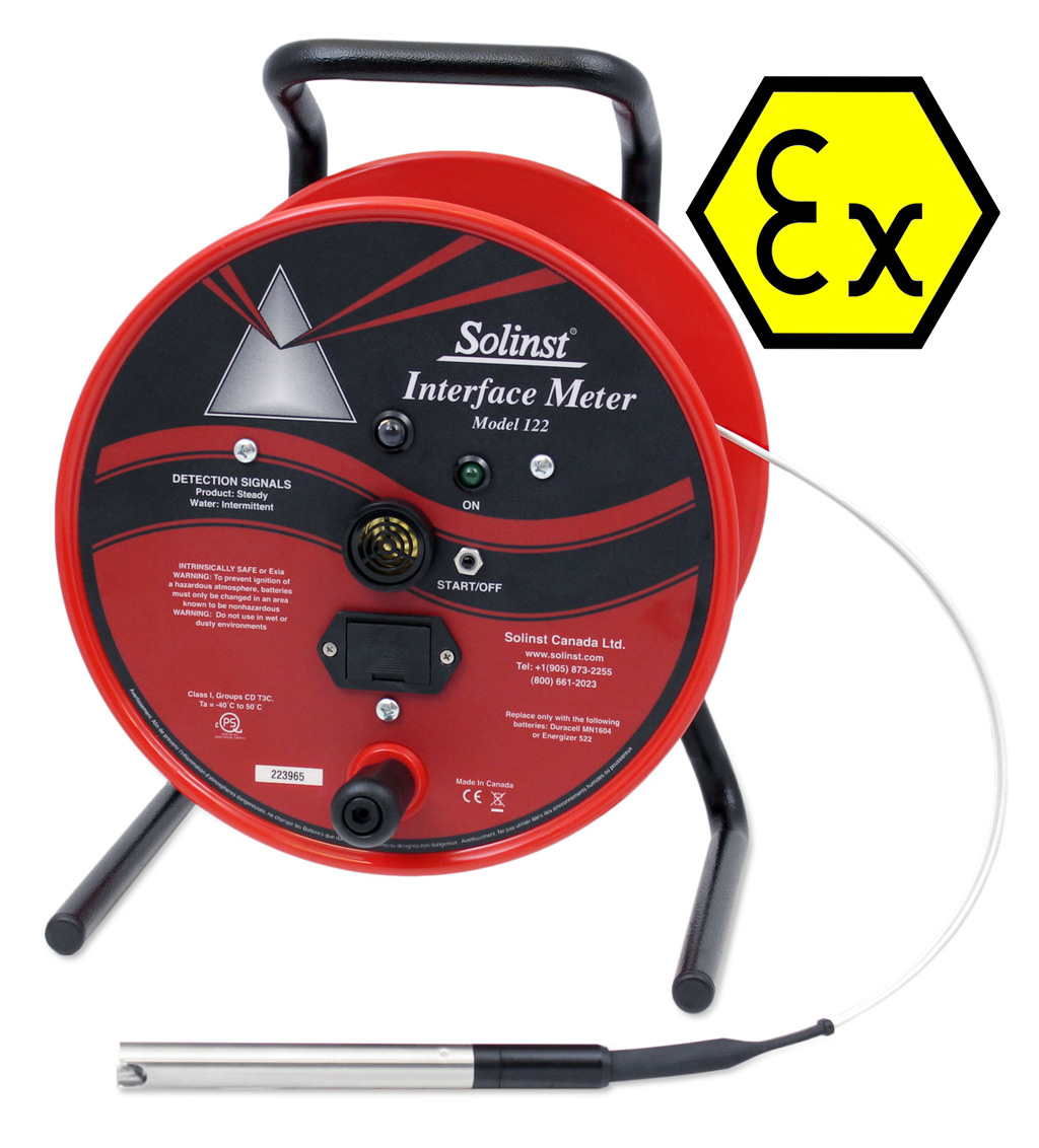 Interface Meter Solinst 122 Atex